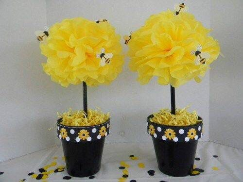 Fun and Wonderful Humble Bee Baby Shower Decorations